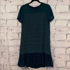 Madewell Emerald Dress